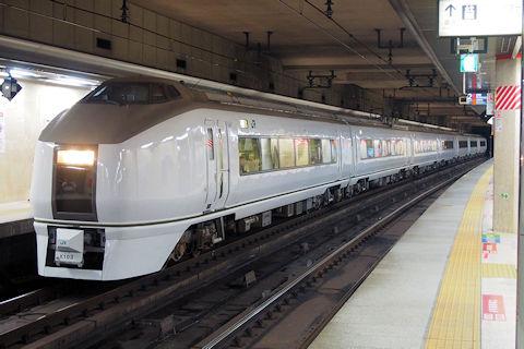 651系を使用したTDR臨(舞浜臨)が運転(H30.8.4): 列車とともに ...